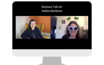Bettinas Business Talk: Andrea Beerbaum – wie Bücher dir helfen mit deinem Angebot sichtbar zu sein