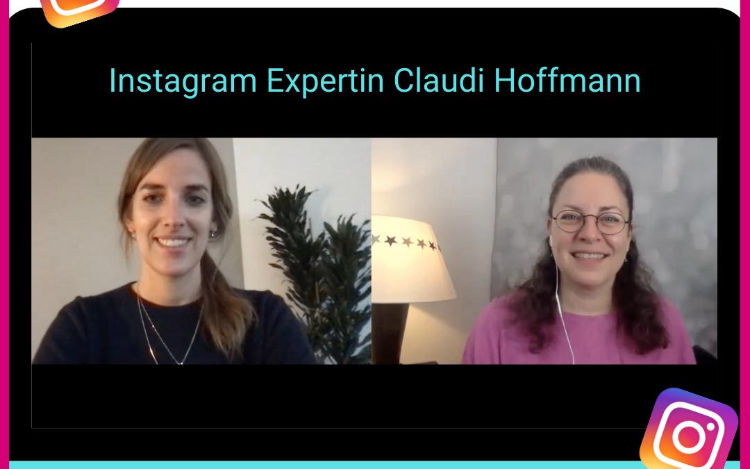 Bettinas Business Talk: Instagram Expertin Claudi Hoffmann